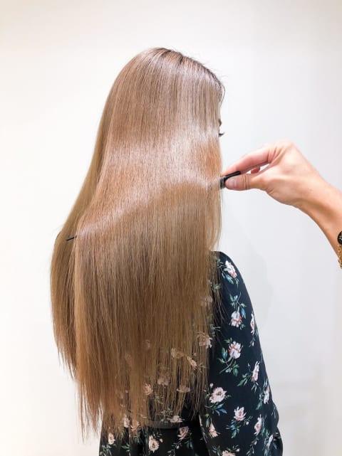 キレイな髪の第一歩:髪質改善トリートメント
