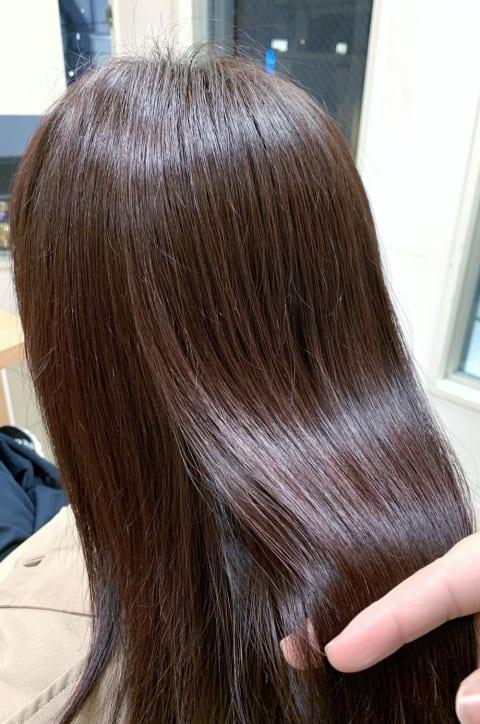 「髪質改善」 酸熱トリートメント