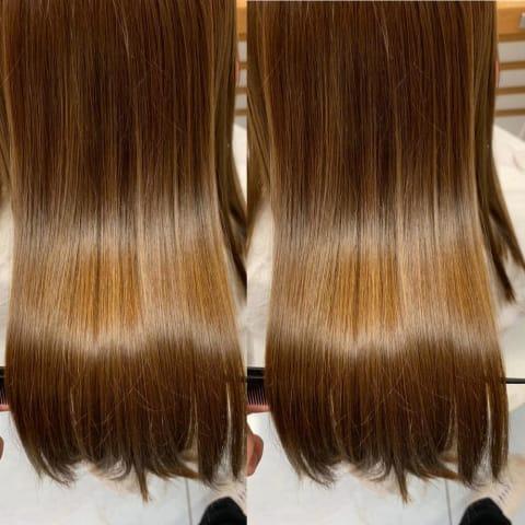髪質改善クリスタルストレート
