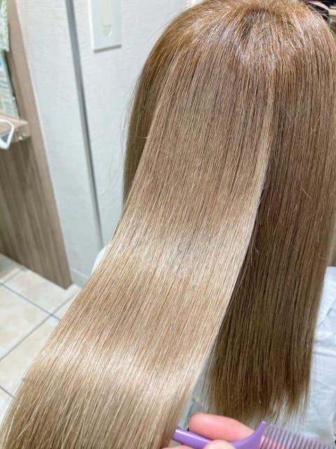 cmcコスメ縮毛矯正、ナチュラルストレート、髪質改善