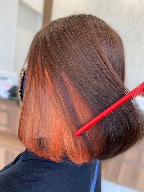 【髪質改善カラー】ブリーチしても傷みを感じさせない!