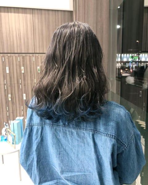 毛先BLUE