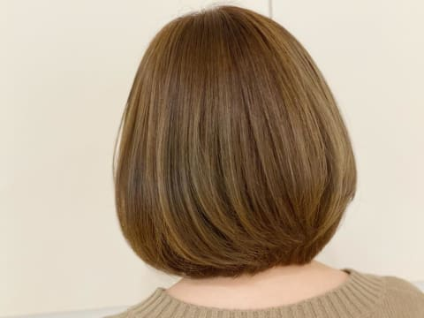 縮毛矯正×イルミナカラー