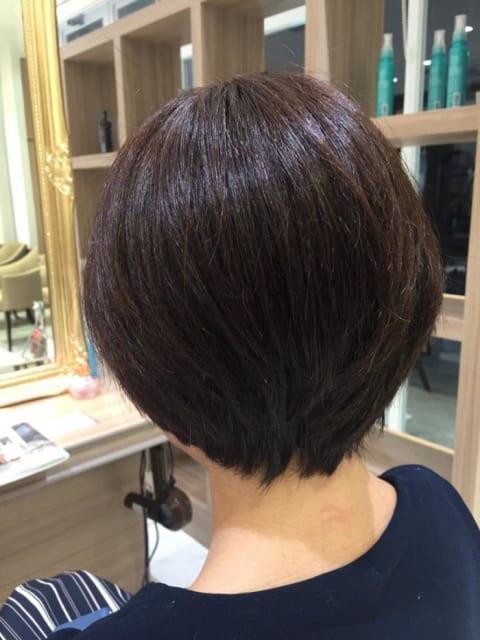 襟足【えりあし】スッキリショートヘア