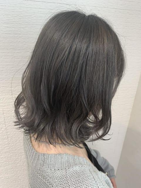 【モテ髪♡】スモーキーグレージュ