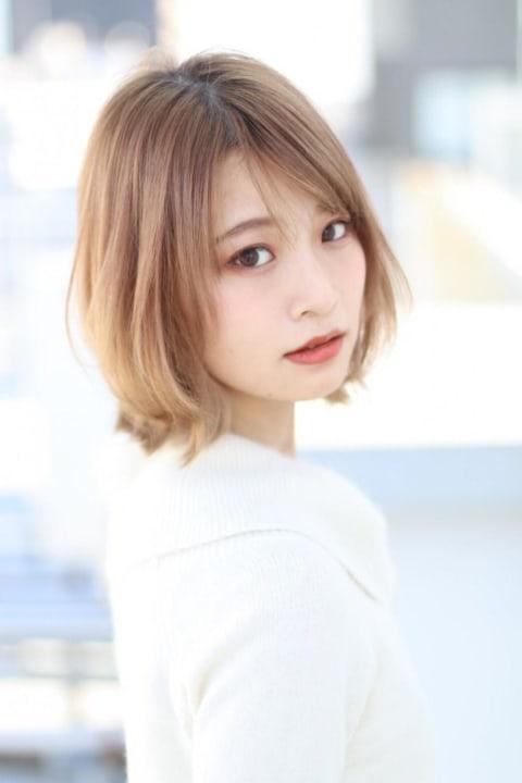 外ハネショートスタイル☆