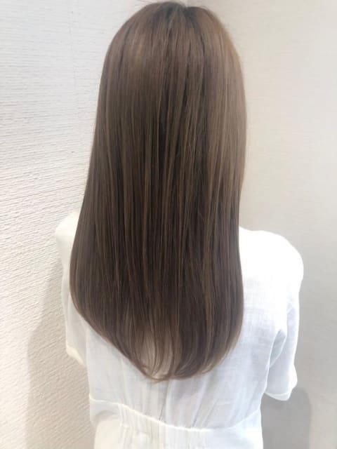 【縮毛矯正 】Before → After