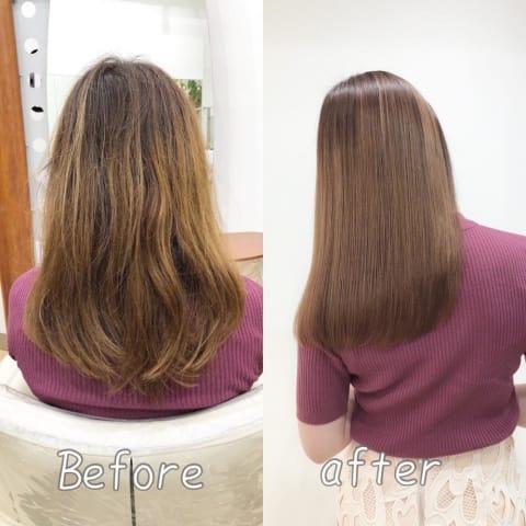 髪質改善 酸熱トリートメント