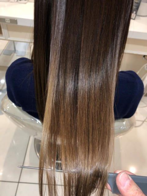 髪質改善×ロング