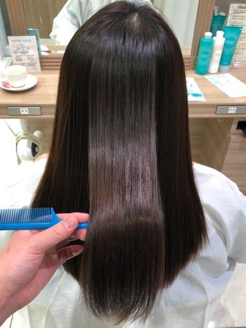 髪質改善ストレート史上最高の艶髪
