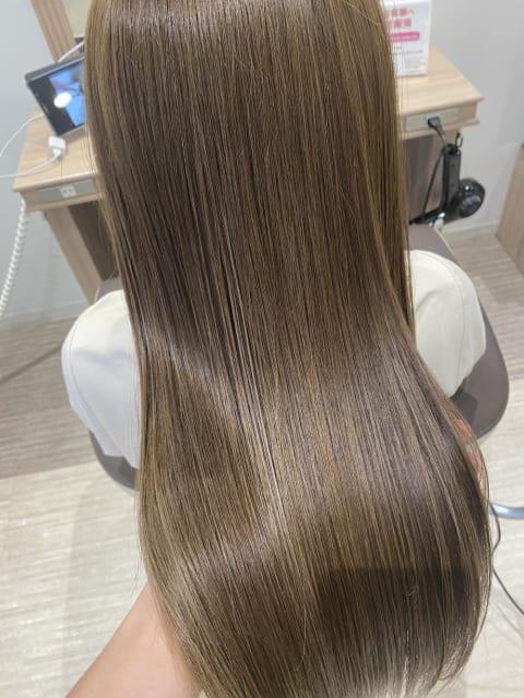 髪の傷みがなくなる髪質改善トリートメント