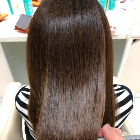 【圧倒的艶髪】髪質改善縮毛矯正