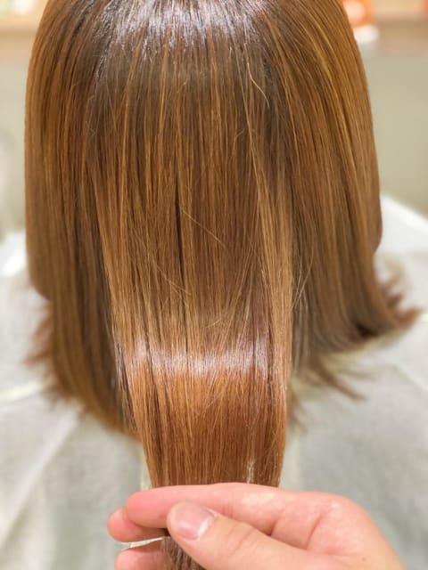 『髪質改善』