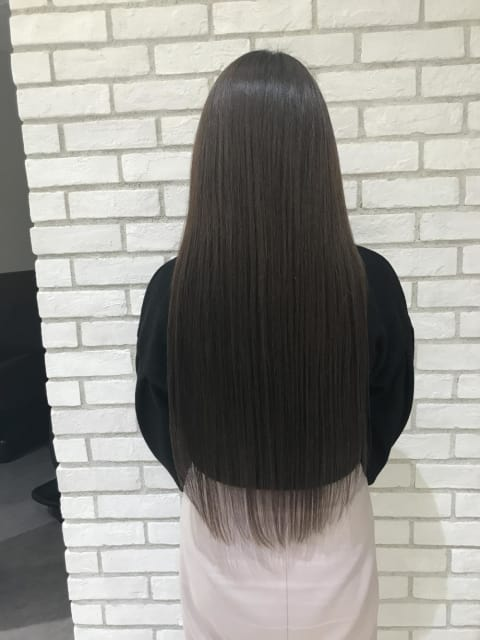 髪質改善×イルミナカラー