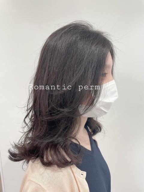★大人女子のロマンティックパーマ
