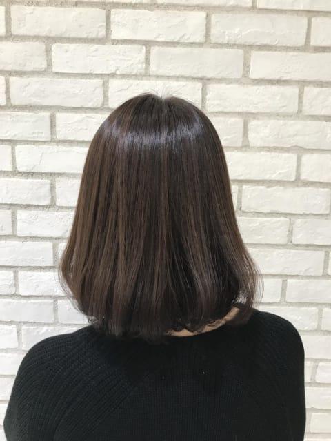 大人ボブ×髪質改善×イルミナカラー
