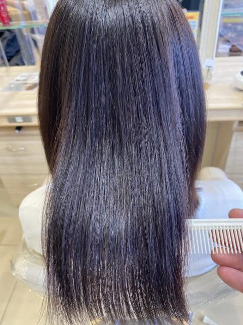 「髪質改善」艶髪縮毛矯正