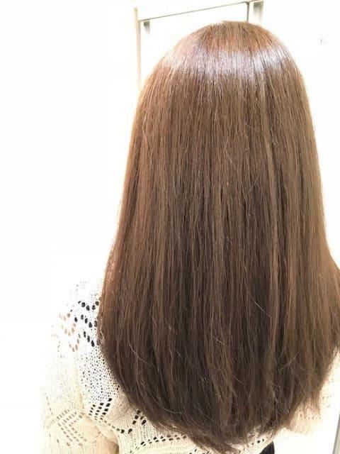 イルミナカラーコーラルで艶髪に♪
