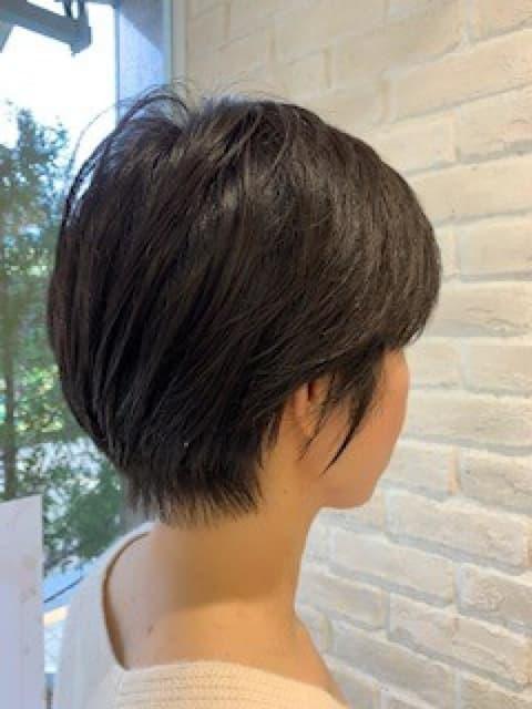 ハンサムショートヘア