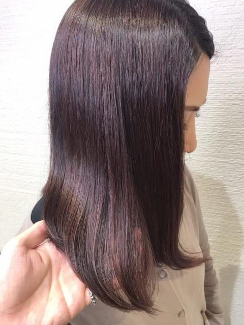 【艶髪】キラ水ダメージレス縮毛矯正