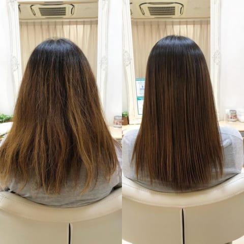 髪質改善縮毛矯正