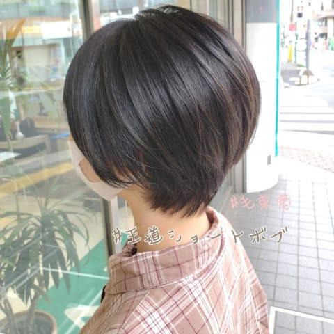【Ash等々力店/板橋大祐】王道ショートボブ
