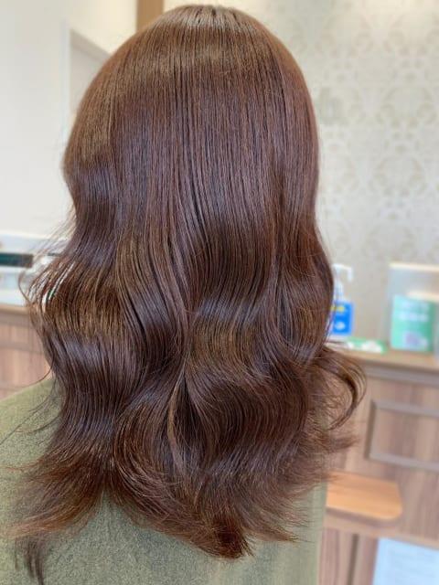 【髪質改善カラー】艶が出やすいブラウンカラー