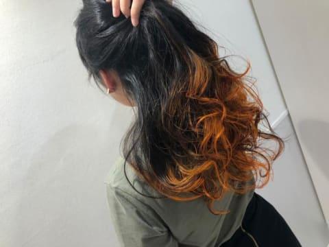 グラデーションカラー(サニーオレンジ)
