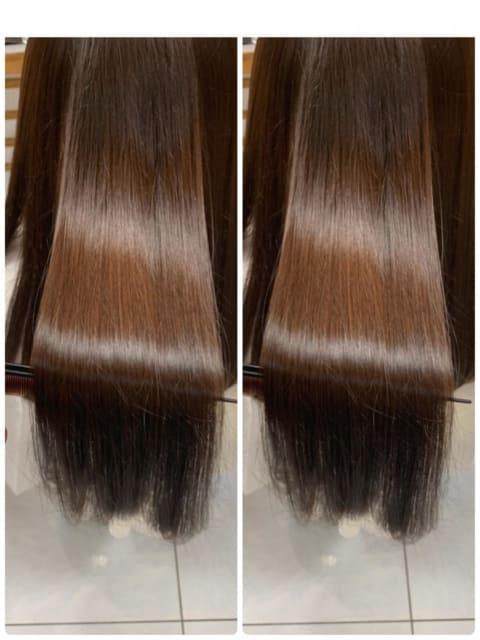 オーダーメイドに髪質改善トリートメント