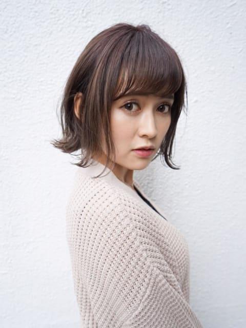 【横浜×外ハネボブ】簡単スタイリングの大人可愛い外ハネボブ