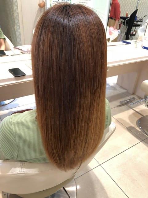 髪質改善プレミアム縮毛矯正