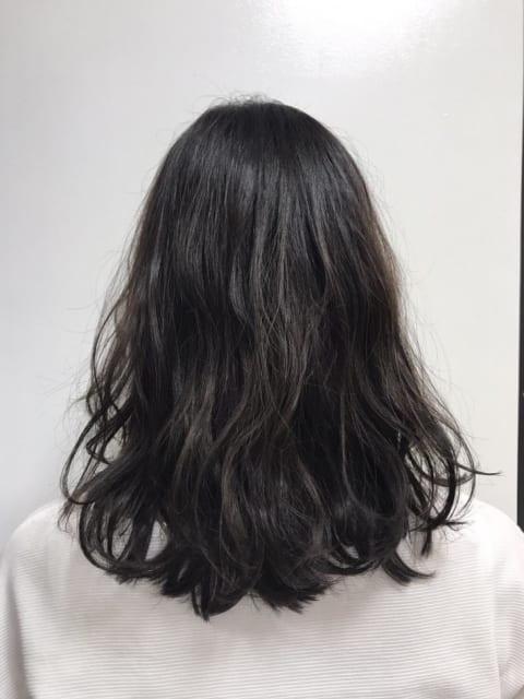 イルミナカラー×暗髪アッシュ★