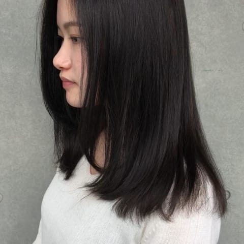 黒髪 Long