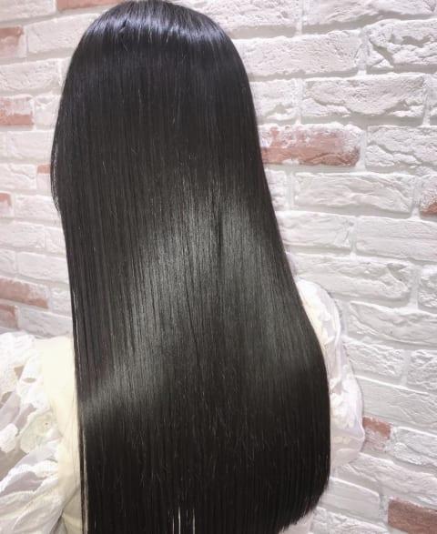 髪質改善トリートメント縮毛矯正
