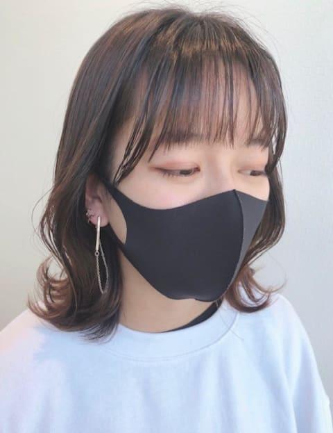 小顔効果アリ♡くびれボブ