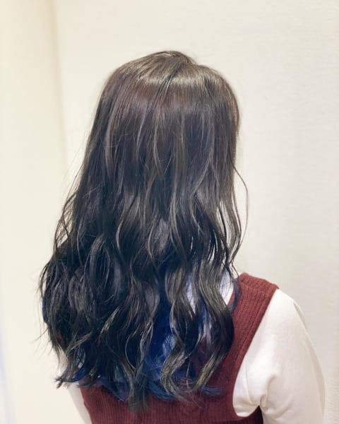 イルミナカラー×インナーブルー