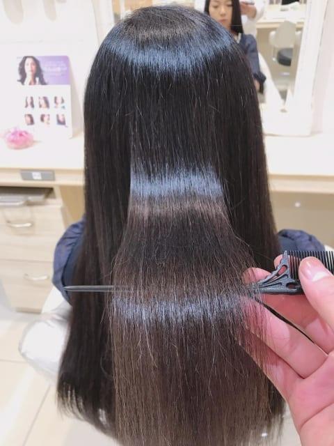 【髪質改善】艶髪縮毛矯正