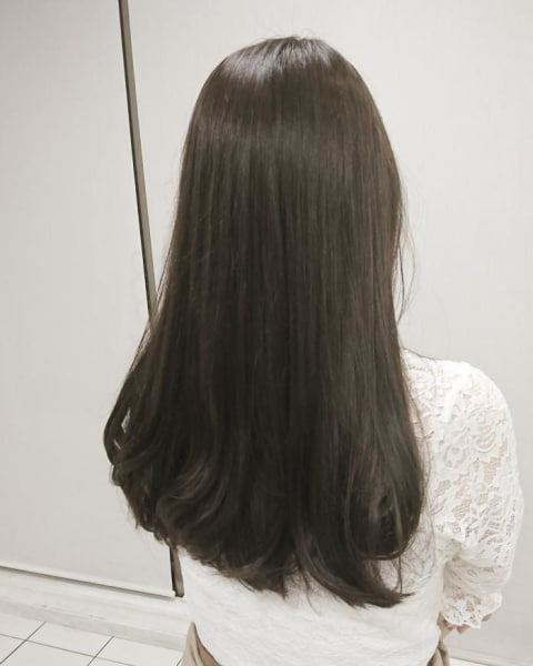 イルミナカラーで作る暗髪カラー