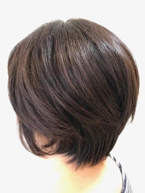 髪質改善×横顔美人ショート