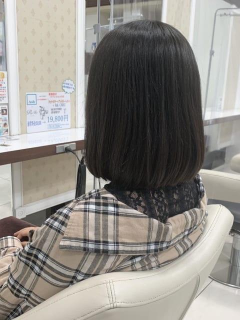 韓国風 ティーンズ向け ストレート ボブ