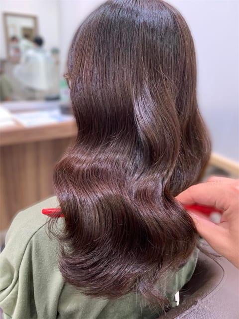 【髪質改善カラー】艶々ショコラブラウン