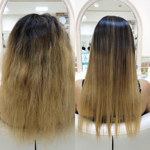髪質改善グロスストレート