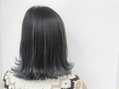 【お客様style】シルバーアッシュ