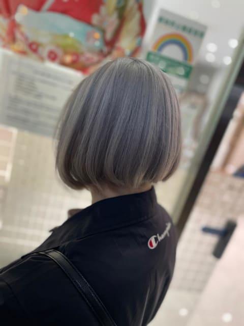【Ash立川店】ホワイトシルバー