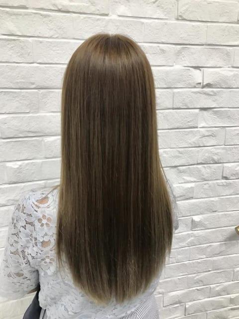 髪質改善!サラサラストレート