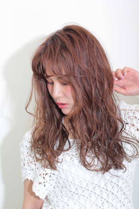 【Ash等々力/水野翼】外国人風濡れ髪ほつれウェーブ