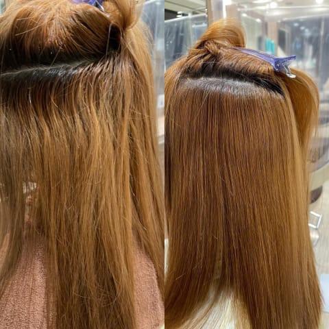 プレミアム縮毛