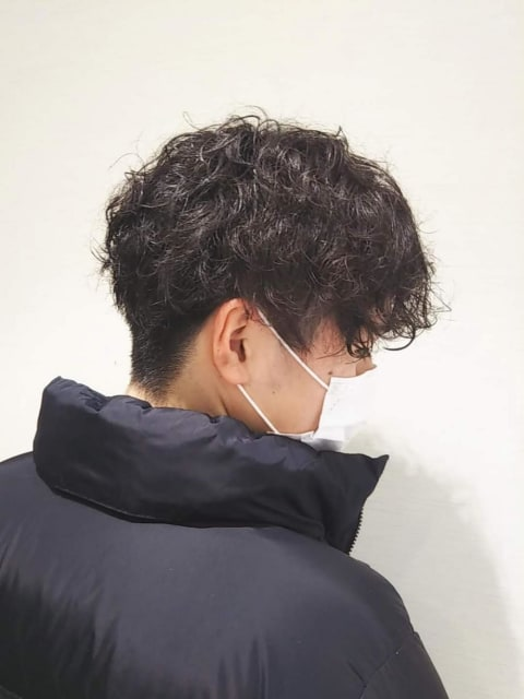 都会派スパイラルパーマ【Ash大泉学園 辻 若奈】