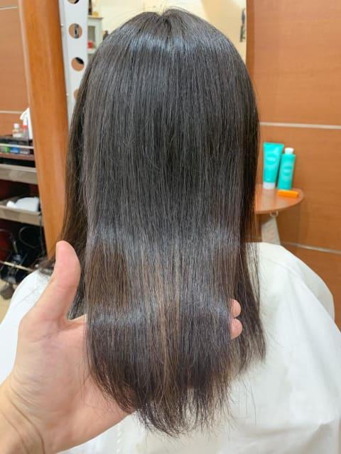 【最新トリートメント】酸熱トリートメントで髪質改善