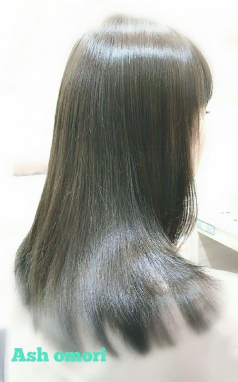Ash大森店の【髪質改善】縮毛矯正